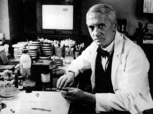 ученый, который открыл антибиотики - Александр Флеминг