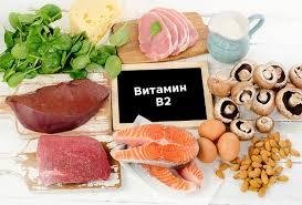 виатмин В2 и продукты красивая картинка