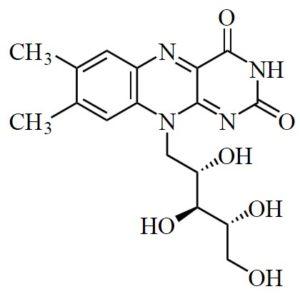 химическая структура рибофлавина