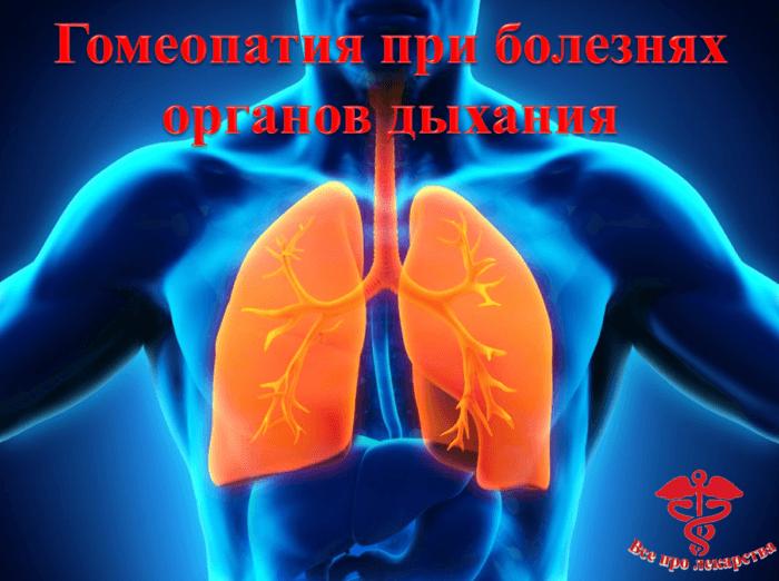 Гомеопатия при кашле, бронхите, пневмонии и бронхиальной астме