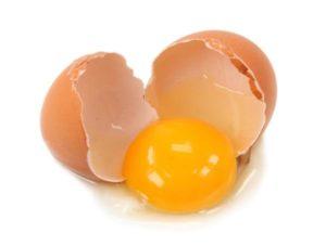 яйцо расколотое