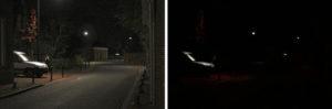 Нормальное ночное зрение и куриная слепота