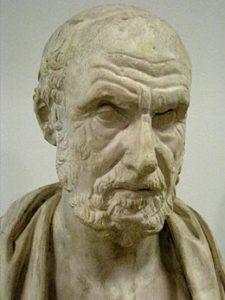 Гиппократ бюст