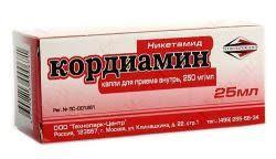 кордиамин упаковка